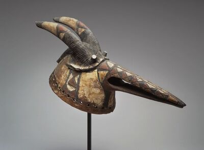 Unknown Mossi peoples, 'Wan-pesego Mask', Late 19th or early 20th century