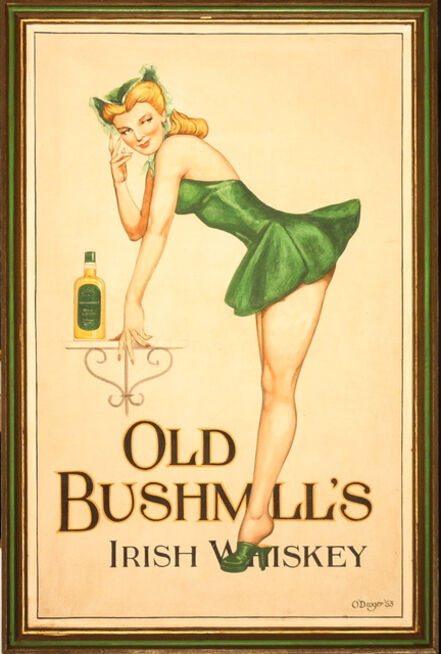 Unknown European, 'Old Bushmill's Irish Whiskey', 20th Century