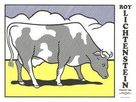 Roy Lichtenstein, 'Cow Going Abstract Triptych', 1982