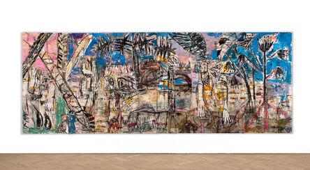 Daniel Crews-Chubb, 'Forest (blue green pink)', 2018