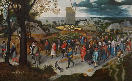 Martin van Cleve, 'A Wedding Procession', ca. 1527