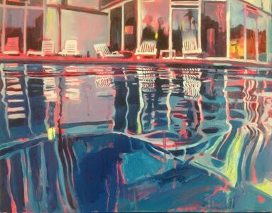 Lucinda Metcalfe, 'True Blue', 2016