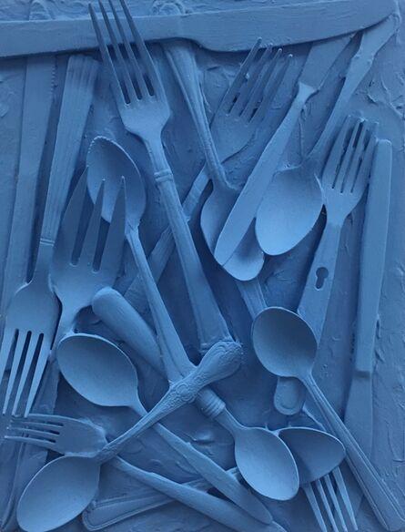 Georgeana Ireland, 'Let's Eat (Blue)', 2021