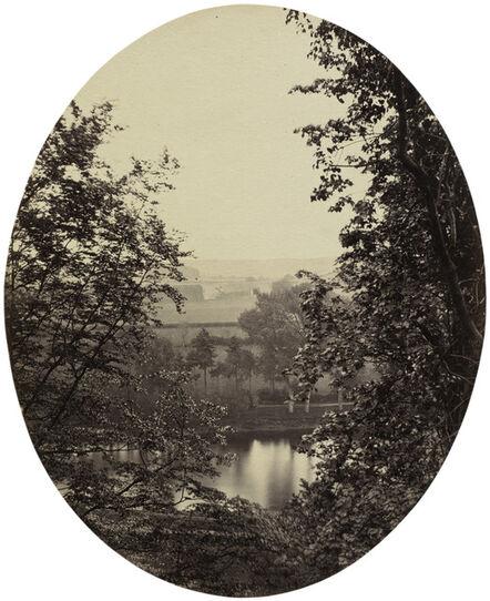 Major F. Gresley, 'The Banks of the Severn, near Winterdyne', ca. 1862