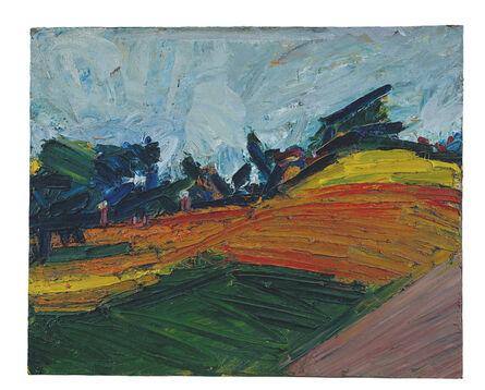 Frank Auerbach, 'Primrose Hill', 1971