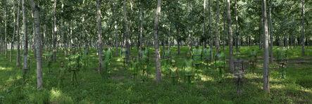 Liu Bolin, 'Hiding in the City. Forest.', 2013