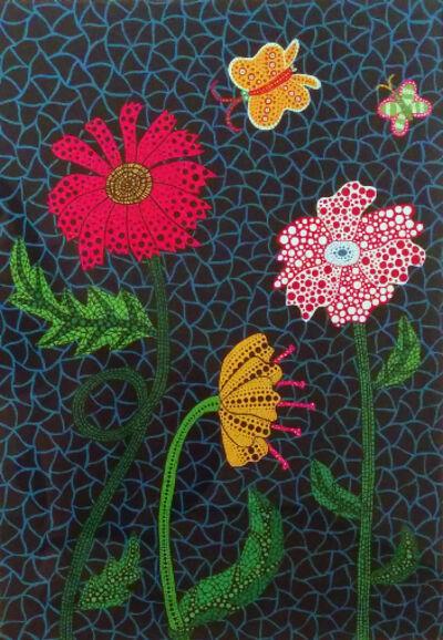 Yayoi Kusama, 'Flower', 2002