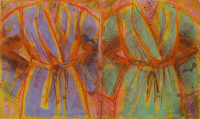 Jim Dine, 'Behind the Thicket', 1993