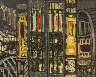Paul Resika, 'The Subway', 1947