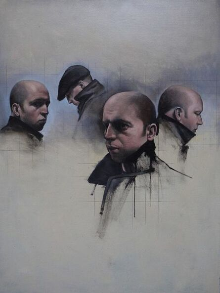 Christopher Thompson, 'Four Studies for a Self-Portrait', 2015