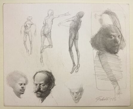 Roberto Fabelo, 'Untitled Drawing', 1986