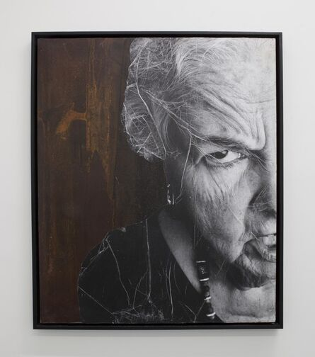 JR, 'The Wrinkles of The City, Los Angeles, Karen sur fonte, USA', 2011