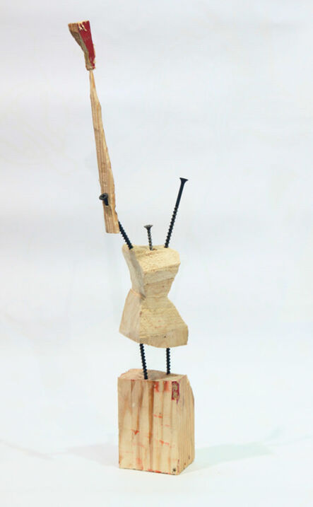 ZIP Group, 'Woman with Torch (from Utopian Skeleton series)', 2014