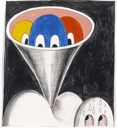 Trenton Doyle Hancock, 'Fun Hole Funnel', 2010