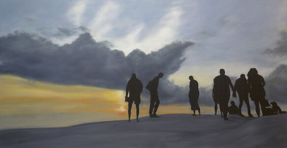 Frédéric Choisel, 'Quo Tendimus ( Where are we going ) / oil on linen canvas', 2019