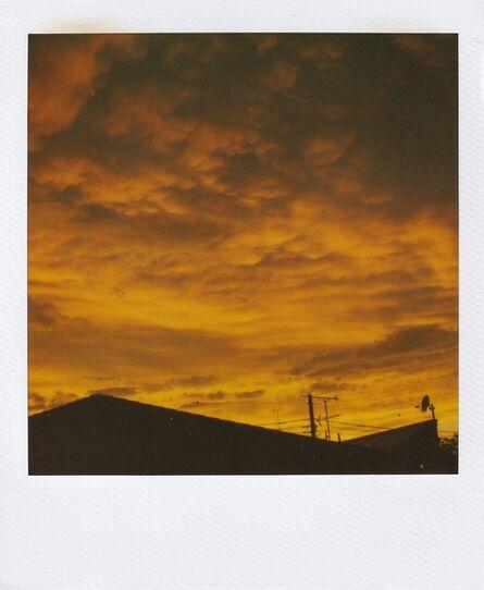 Nobuyoshi Araki, 'Skyscape polaroid', ca. 2000