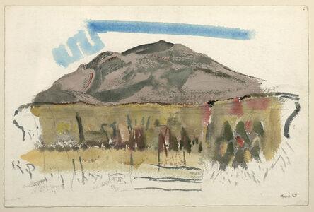 John Marin (1870-1953), 'White Mountain Country, Autumn No. 44, Franconia Range, The Mountain No. 1,', 1927