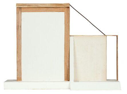 Camiel Van Breedam, 'Hoge muren (met luifel en steunbeer)', 2014