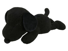 KAWS, ''Snoopy' (black) Large Plush Figure (w/Uniqlo)', 2017