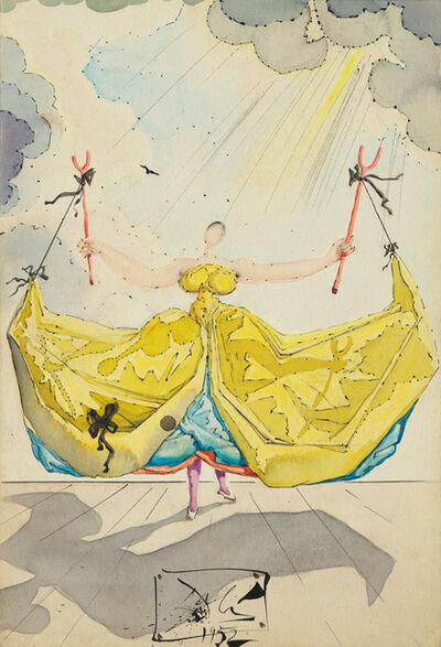 Salvador Dalí, 'La meunière Frasquita ', 1952