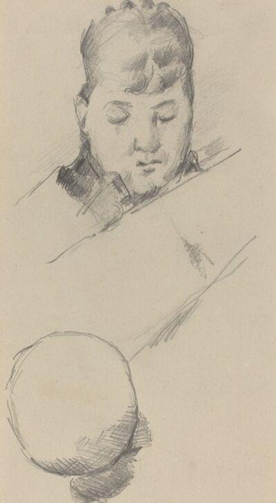 Paul Cézanne, 'Bust of Madame Cézanne [verso]', 1884/1885
