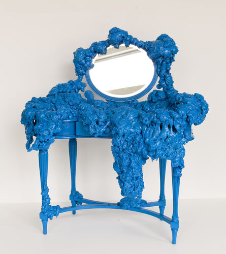 Gabriela Ruiz, 'Blue Vanity', 2020