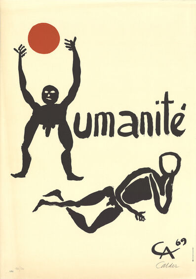 Alexander Calder, 'Humanite', 1968