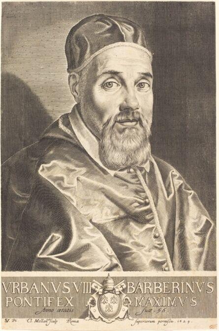 Claude Mellan after Simon Vouet, 'Urban VIII', 1624
