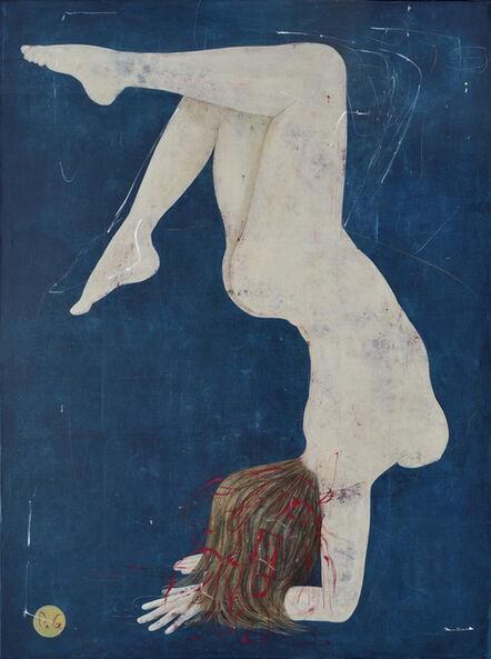 Daniel Garcia, 'Acrobat on blue', 2016