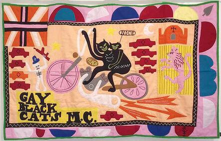 Grayson Perry, 'Grayson Perry, Gay Black Cats MC', 2017