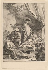 Paul Troger, 'Saints Cosmas and Damian Caring for the Sick', ca. 1736