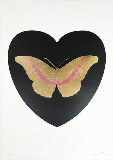 Damien Hirst, 'I Love You - Black/Cool Gold/Loganberry ed. 14', 2015