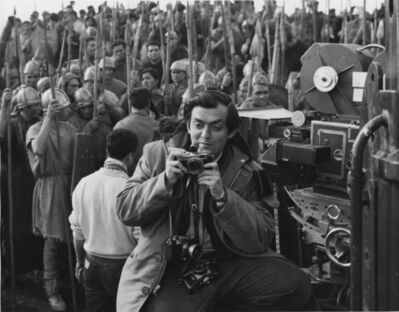 Unknown Artist, 'Stanley Kubrick on the set of Spartacus in Spain', 1959-1960