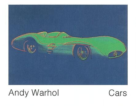 Andy Warhol, 'Formula 1 Car W196 R (1954)', 1989