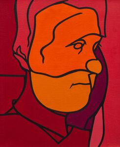 Valerio Adami, 'Portrait', 1976