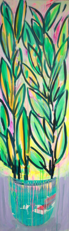 Erin Rachel Hudak, 'Potted prism plant (2)', 2019