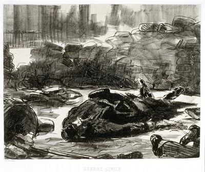 Édouard Manet, 'Guerre civile (Civil War)', 1871