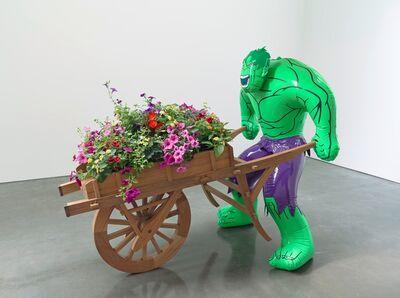 Jeff Koons, 'Hulk (Wheelbarrow)', 2004-2013