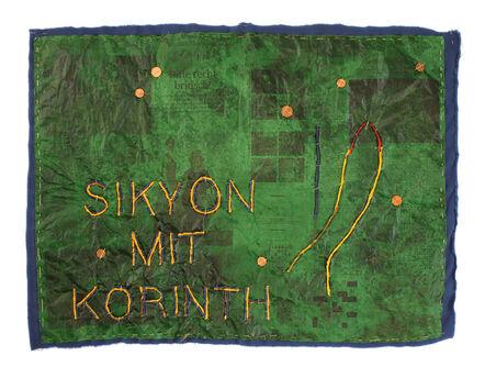Yorgos Sapountzis, 'Sikyon mit Korinth - Landschaften Griechenlands', 2014