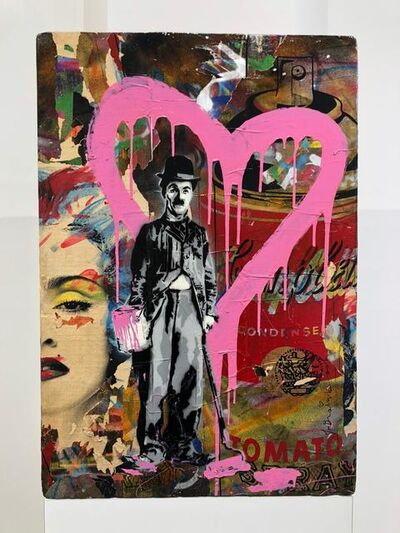 Mr. Brainwash, 'Life Is Beautiful - Chaplin', 2000-2021