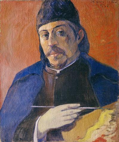 Paul Gauguin, 'Autoportrait à la palette (Self-Portrait with Palette)', ca. 1893