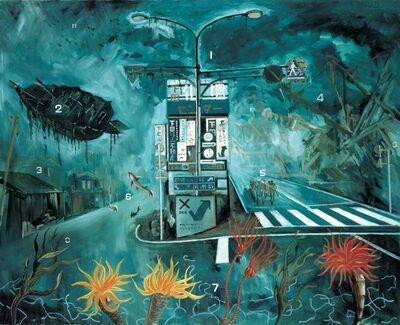 Tadanori Yokoo, 'Shimoda Fantasy', 2007