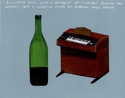 Michael Dumontier & Neil Farber, 'A Complex Song, With a Bouquet of Terrible Playing and Singing, and a Lingering Finish of Sobbing Face Down.', 2017