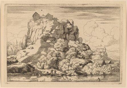 Allart van Everdingen, 'River at the Foot of a High Rock', probably c. 1645/1656