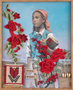 Farhad Ahrarnia, 'Red Gone Gold, no. 2', 2015-2020