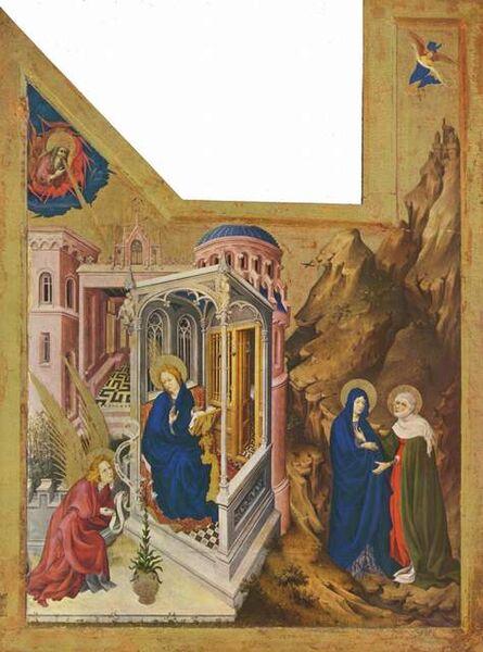 Melchior Broederlam, 'Champmol Altarpiece, wings of the altarpiece for the Chartreuse de Champmol', 1393-1399
