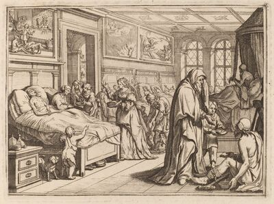 Conrad Meyer, 'Caring for the Ill'