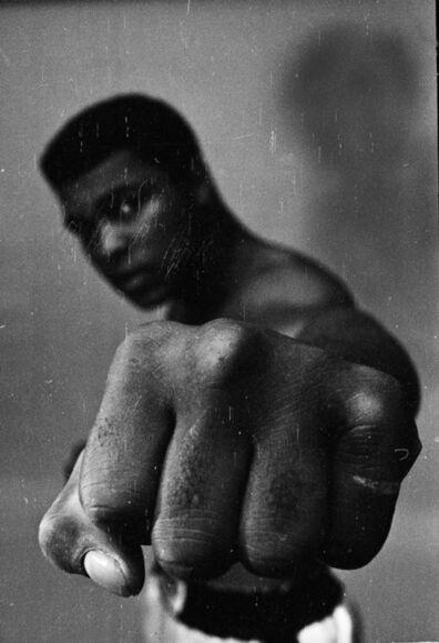 Thomas Hoepker, 'Muhammad Ali, left fist', 1966
