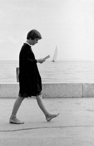 David Hurn, 'Student in Dubrovnik, Croatia. ', 1964
