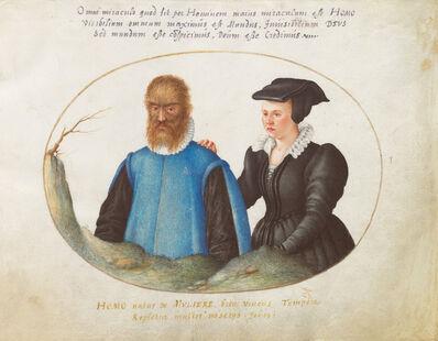 Joris Hoefnagel, 'Animalia Rationalia et Insecta (Ignis):  Plate I', ca. 1575/1580
